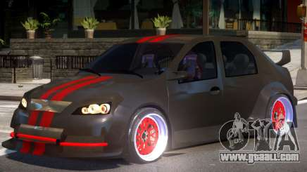 Dacia Logan Tuning for GTA 4