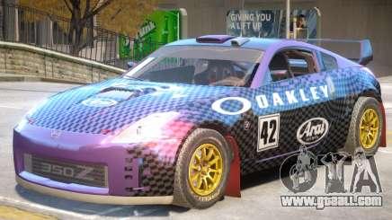 Nissan 350Z Drift V1 PJ2 for GTA 4