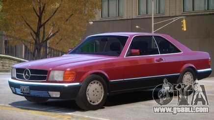 1987 Mercedes W126 R2 for GTA 4