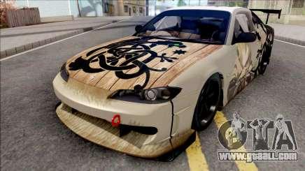 Nissan Silvia S15 Vinland Saga Paintjob for GTA San Andreas