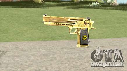 Desert Eagle Gold (French Armed Forces) for GTA San Andreas