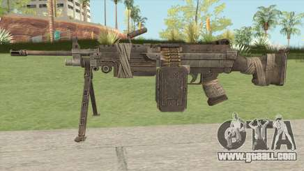 M249 SAW (Spec Ops - The Line) for GTA San Andreas
