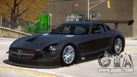 Mercedes Benz SLS GT3 V1 for GTA 4