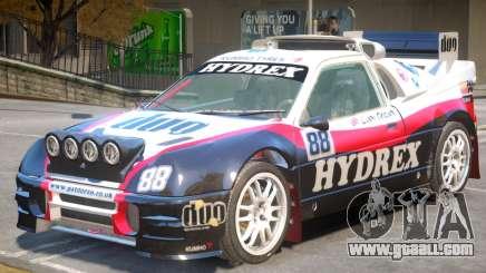 Ford RS200 Drift V1 PJ1 for GTA 4