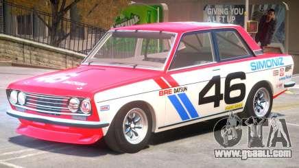 1971 Datsun Bluebird V1 PJ1 for GTA 4