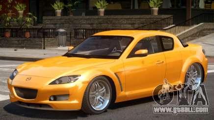Mazda RX8 V1 for GTA 4