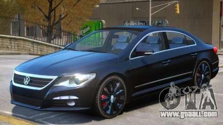 Volkswagen Passat CC V1 for GTA 4