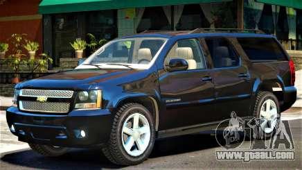 Chevrolet Suburban Y08 for GTA 4