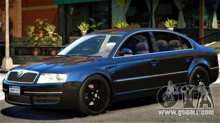Skoda SuperB V1 for GTA 4