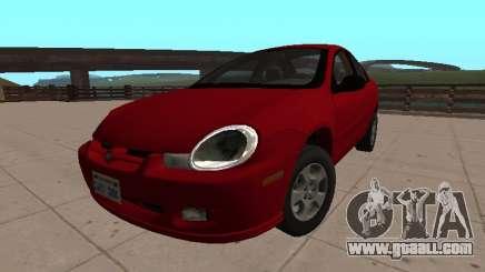 Dodge Neon Série 2002 for GTA San Andreas