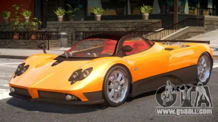 Pagani Zonda F V1 for GTA 4