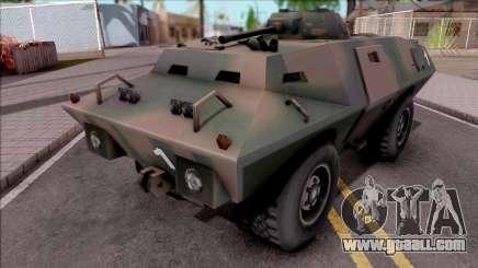 Swatvan Exercito Brasileiro for GTA San Andreas