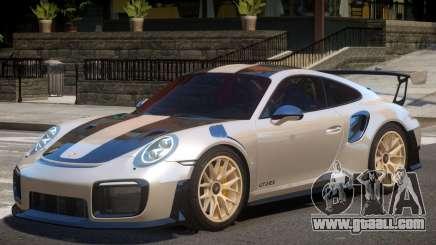 Porsche 911 GT2 RS V2.1 for GTA 4