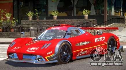 Pagani Zonda R V1.0 PJ3 for GTA 4