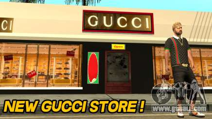 New Gucci Store for GTA San Andreas