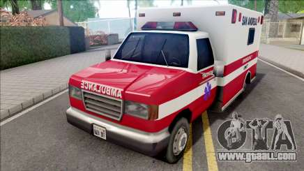 HD Decal for Ambulance for GTA San Andreas