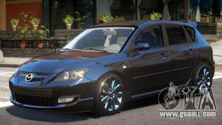 Mazda 3 V1.3 for GTA 4
