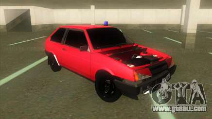 VAZ 2108 Hobo Red for GTA San Andreas