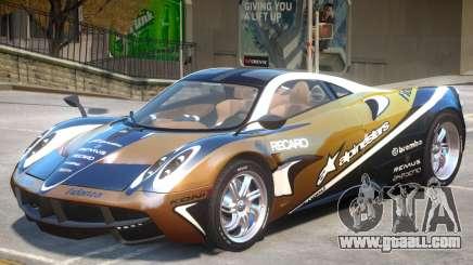 Pagani Huayra V1.0 for GTA 4