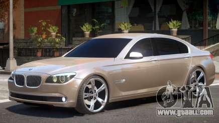 BMW 750Li F01 for GTA 4
