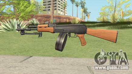 AK47 With Drum Magazine for GTA San Andreas