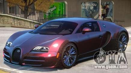 Bugatti Veyron V1 for GTA 4