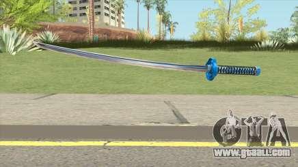 Blue Katana for GTA San Andreas