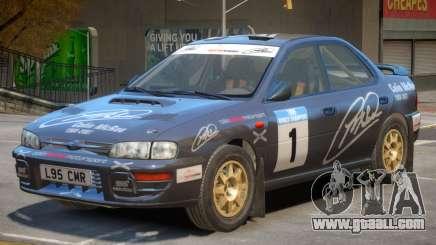 Subaru Impreza Rally Edition V1 PJ3 for GTA 4