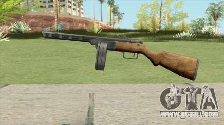 PPSH-41 Submachine Gun (WW2) for GTA San Andreas