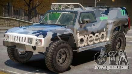 Hummer H3 V1 PJ4 for GTA 4