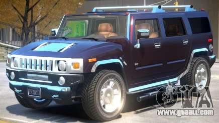 Hummer H2 V1 for GTA 4
