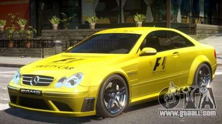 Mercedes CLK63 AMG V1 PJ1 for GTA 4