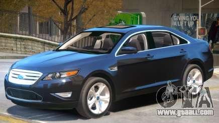 Ford Taurus V1.2 for GTA 4