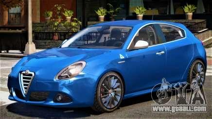 Alfa Romeo Giulietta V1 for GTA 4