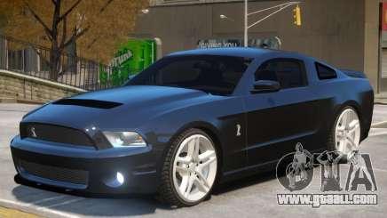 Ford Mustang Shelby V1 for GTA 4