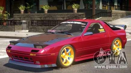 Mazda RX7 V2.2 for GTA 4
