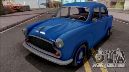 GTA V Weeny Dynasty Blue for GTA San Andreas