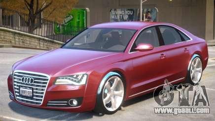 Audi A8 V1 R2 for GTA 4