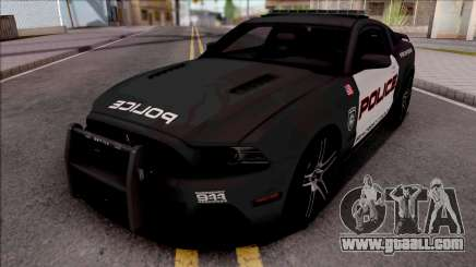 Ford Mustang Boss 302 2013 Police for GTA San Andreas