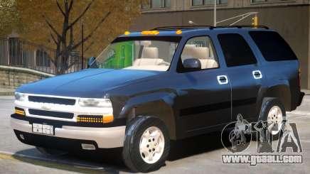 Chevrolet Tahoe V1.0 for GTA 4