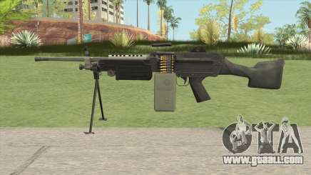 M249 (Battlefield 2) for GTA San Andreas