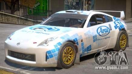 Nissan 350Z Drift V1 PJ5 for GTA 4