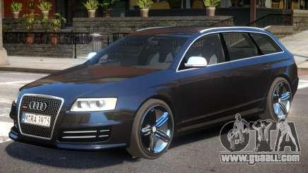 Audi RS6 Avant V1 for GTA 4