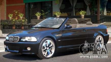 BMW M3 E46 Cabrio for GTA 4
