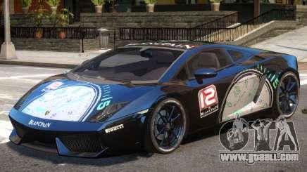 Lamborghini Gallardo SE PJ3 for GTA 4