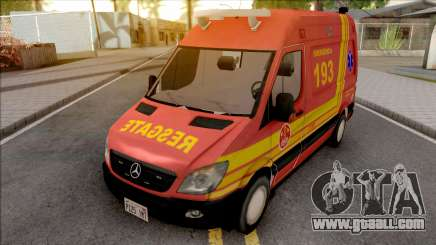 Mercedes-Benz Sprinter 2013 Ambulancia v2 for GTA San Andreas
