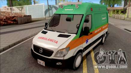 Mercedes-Benz Sprinter 2013 Ambulancia v3 for GTA San Andreas