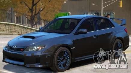 Subaru Impreza Upd for GTA 4