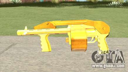 Combat Shotgun Gold (French Armed Forces) for GTA San Andreas