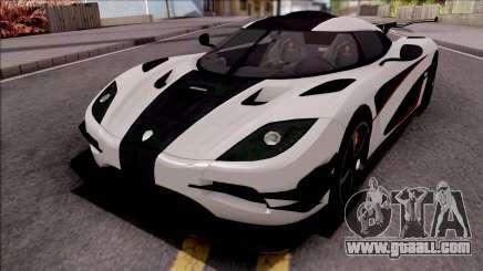 Koenigsegg One:1 2014 Lowpoly for GTA San Andreas